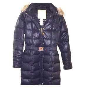 6e8cafc2fa6b0 Winter Baby Phat Puffer Coat with fur on hood